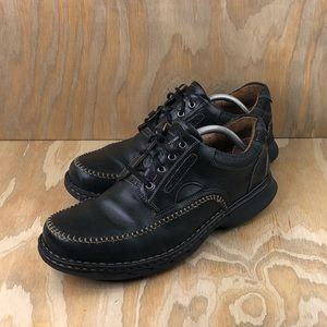 Clarks Unstructured Oxfords Casual Leather